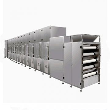 Metal Conveyor Belt Dryer and Cooling Machine For Food Processing Industry