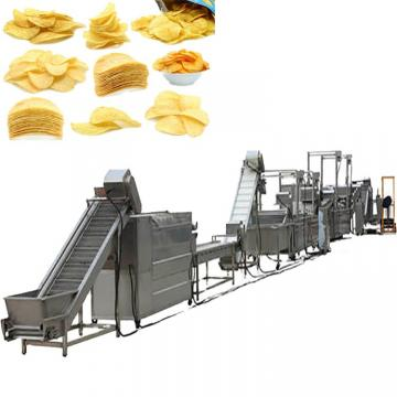 Industrial Fully Automatic French Fries Fresh Lays Sweet Potato Crisp Chips Making Machine Price
