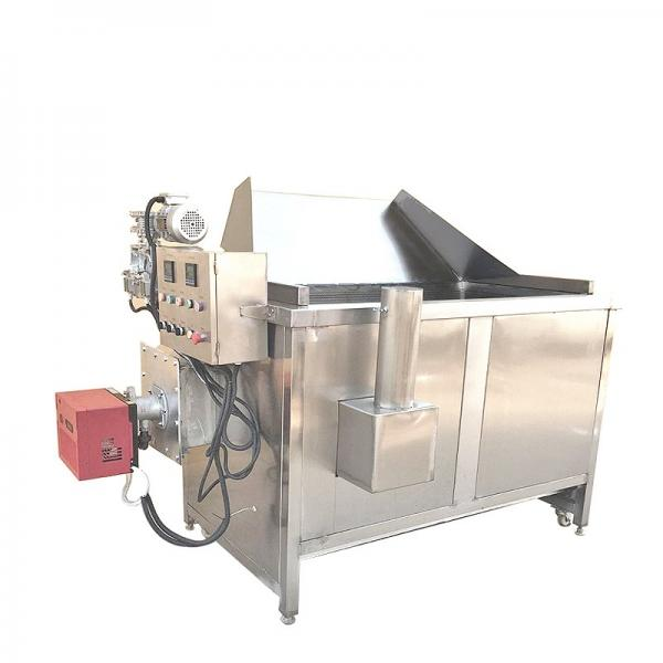 Industrial Food Frying Equipment Fish and Chips Belt Fryers Machine #1 image