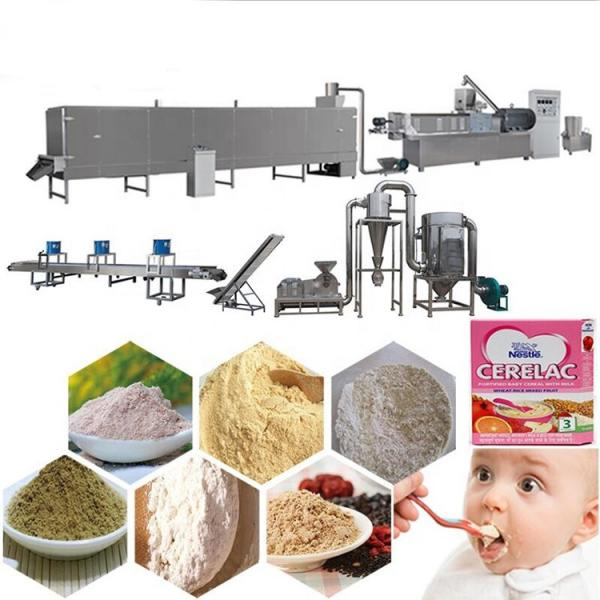 Automatic instant baby wheat grain cereal breakfast corn snacks food production line/making machines from Jinan Phenix Machinery #3 image